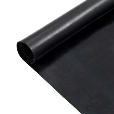 vidaXL Alfombrilla de goma antideslizante 1,2x5 m 1 mm lisa