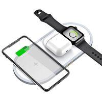 Cargador rápido inalámbrico para teléfonos móviles y Apple Watch