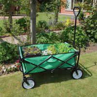 Carretilla de Jardín Plegable para Jardinería