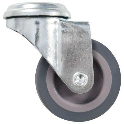 vidaXL Ruedas giratorias con agujero pasador 24 unidades 50 mm