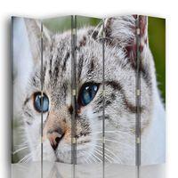 Biombo Ojos Felinos - Separador de Ambientes