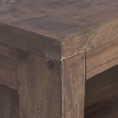 vidaXL Mueble para TV madera maciza de teca 100x30x40 cm