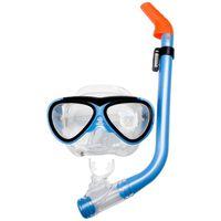 Waimea máscara de buceo para menores aguamarina / negro 88DH
