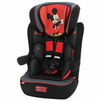Disney Silla de coche para niños I-Max Mickey grupo 1+2+3 rojo