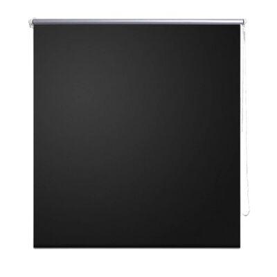 Estor Persiana Enrollable 80 x 230 cm Negro