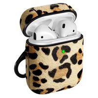 Estuche Airpods - Protección A Prueba De Golpes - Patrón De Leopardo
