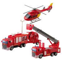 Happy People Parque de bomberos de juguete 5 piezas