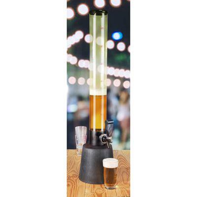 HI Dispensador de cerveza transparente 3 L