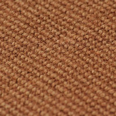 vidaXL Alfombra de yute con reverso de latex 140x200 cm marrón