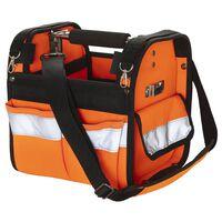 Toolpack Bolso de herramientas alta visibilidad Distinct naranja negro
