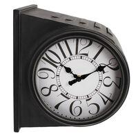 Gifts Amsterdam Reloj de pared Glasgow metal oro viejo 28x21x31,5 cm