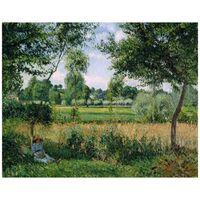 Cuadro Lienzo - Luz De La Mañana En Eragny - Camille Pissarro