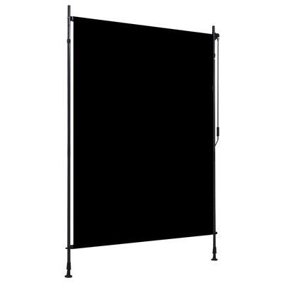 vidaXL Estor enrollable de exterior gris antracita 150x270 cm