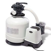Intex Bomba de filtro de arena Krystal Clear 26652GS 12 m³/h