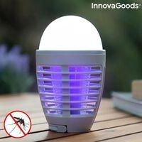 Lámpara Antimosquitos Recargable Con Led 2 En 1 Kl-bulb Innovagoods
