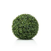 Emerald Bola de boj artificial UV verde 28 cm