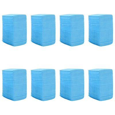 vidaXL Empapadores para mascota 400 unidades 90x60 cm textil no tejido