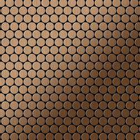 Alloy Penny-ti-ab Mosaico De Metal Sólido Titanio Cobre