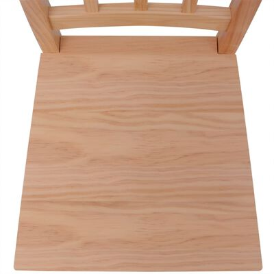 vidaXL Conjunto de comedor 7 piezas madera de pino