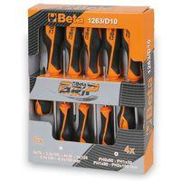 Beta Tools set destornilladores de acero 10 uds 1263/D10 012630010