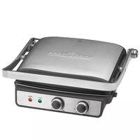 ProfiCook grill de contacto 2000 W plateado PC-KG 1029