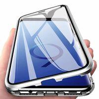 Funda magnética para Samsung Galaxy S9 - plateada