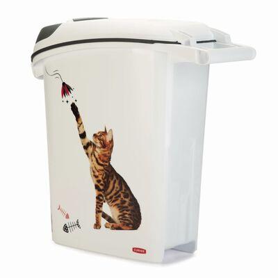 Curver Contenedor de comida para gatos 23 L