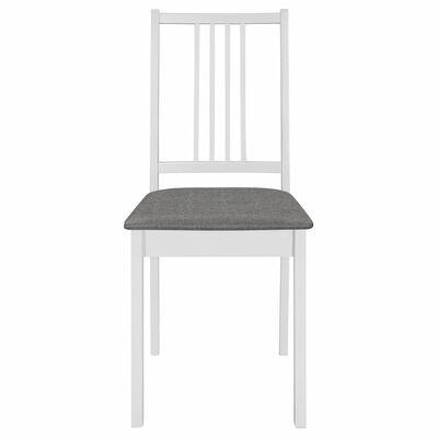 vidaXL Juego de muebles de comedor 3 piezas MDF blanco