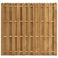 vidaXL Panel de valla de jardín madera de pino 180x170 cm