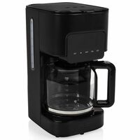 Princess Cafetera Deluxe Black Steel negro 1,5 L 900 W
