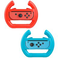 Volante para Nintendo Switch Joy-Con - paquete de 2 - rojo / azul