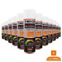 12 x 500ml Resistente Spray Adhesivo