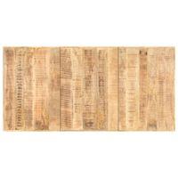 vidaXL Superficie de mesa madera maciza de mango 16 mm 200x100 cm