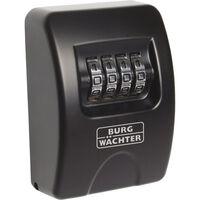 BURG-WÄCHTER Caja fuerte para llaves 10 SB negra