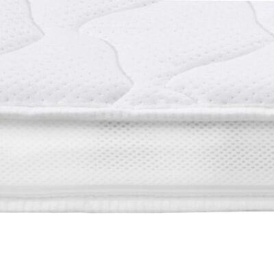 vidaXL Sobrecolchón 180x200 cm espuma de gel 7 cm