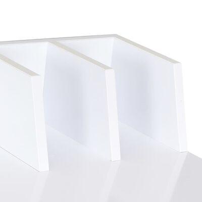 vidaXL Escritorio blanco 80x50x84 cm