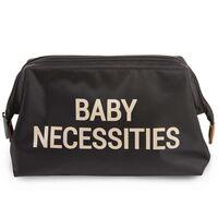 CHILDHOME Neceser infantil Baby Necessities negro y dorado