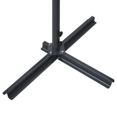 vidaXL Toldo de pie independiente gris antracita 500x300 cm