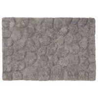 Sealskin Alfombra de baño Pebbles algodón gris 60x90 cm