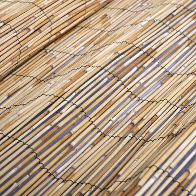 vidaXL Valla de caña de junco 150x500 cm
