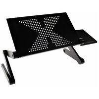 United Entertainment Soporte ordenador portátil multifuncional negro