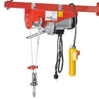vidaXL Polipasto eléctrico 1300 W 400/800 kg