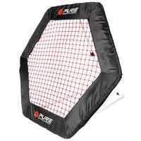 Pure2Improve Rebotador de fútbol red hexagonal 140x125cm