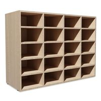 vidaXL Zapatero de madera aglomerada color roble 92x30x67,5 cm
