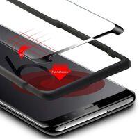 Protector de pantalla para cristal templado Samsung Galaxy S9 - negro