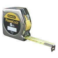 Flexometro Powerlock - Stanley - 0.33.195 - 5Mtx25 Mm