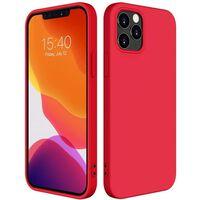 Funda móvil antigolpes para iPhone 12 Pro Max Roja