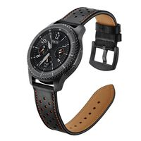 Pulsera Samsung Gear S3 Classic / S3 Frontier 22 mm Cuero - negro