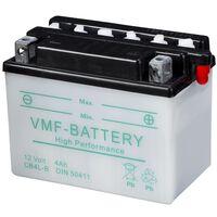 Batería para motocicleta VMF Powersport, 12 V 4 Ah CB4L-B