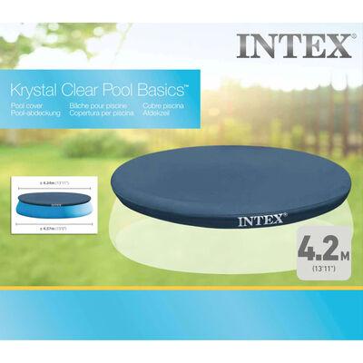 Intex Cubierta de piscina redonda 457 cm